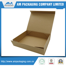 Recycled cardboard paper box plain shoe box packaging shoe box with lid