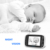 Videotimes 3.2'' Radio Portable Video Baby Monitor with Two-way Talkback, Infrared Night Vision for baby