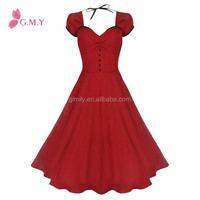 Women's 'Bella' Classy Vintage 1950's Rockabilly Style Swing Party pageant Dress