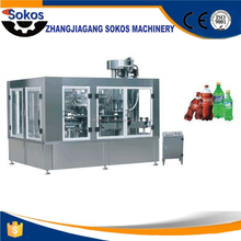 High quality chinese stainless steel soft beverage filling and sealing machine
