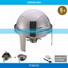 2014 New Model Commerical Stainless Steel Cover Round Chafing Dish