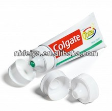 flip top caps for toothpaste tubes
