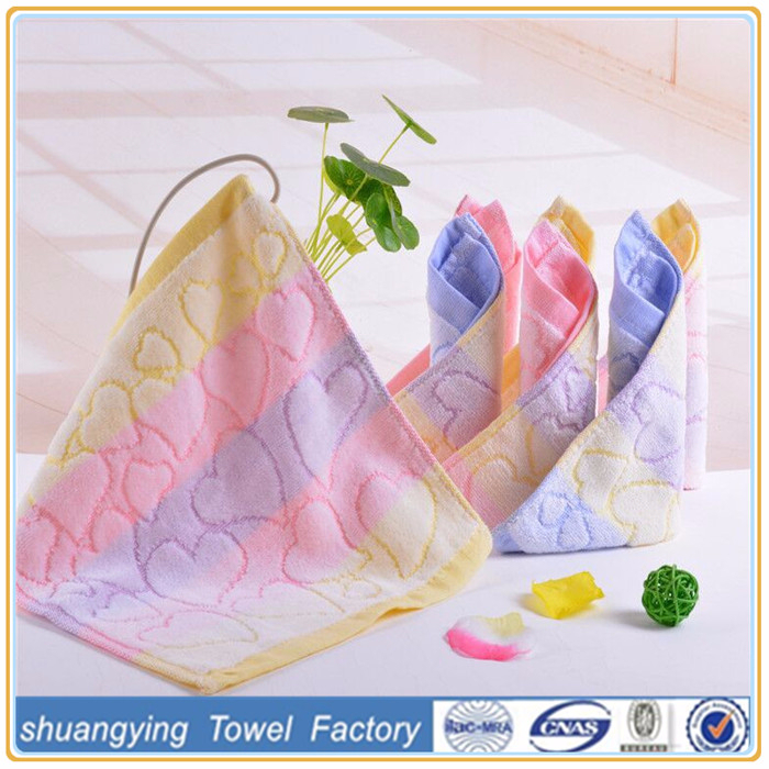 High Quality Wholesale China Color Changing Cheap Hand Towel for Kids