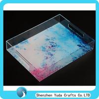 Buy Alibaba express elegant shaped lucite tray durable acrylic ...
