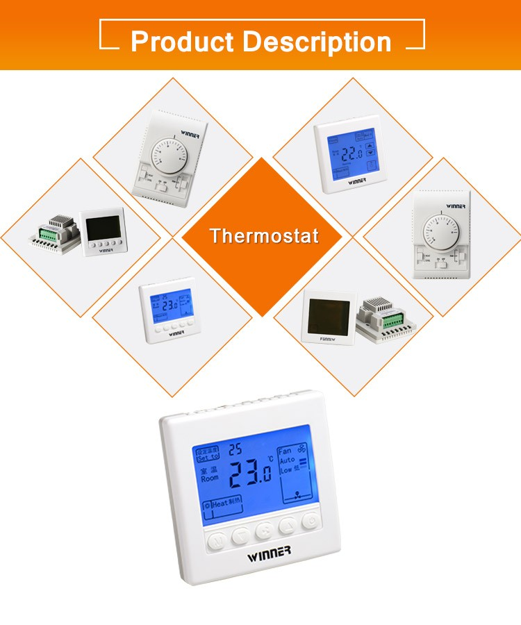 FCU thermostat for valve control
