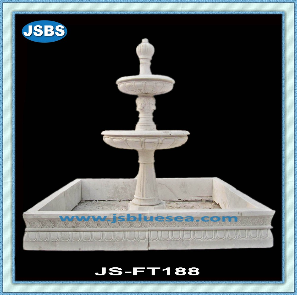 square outdoor granite water fountains
