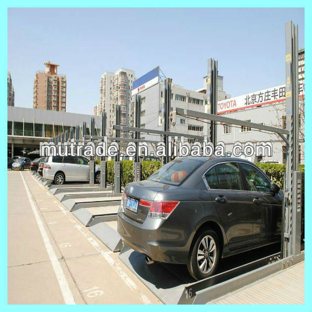 garage car parking assist two post car trunk lift