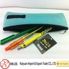 Alibaba express china online shopping felt pencil bag with logo design