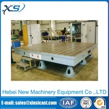 Cast Iron Inspection welding Tables testing surface plate With T-slot
