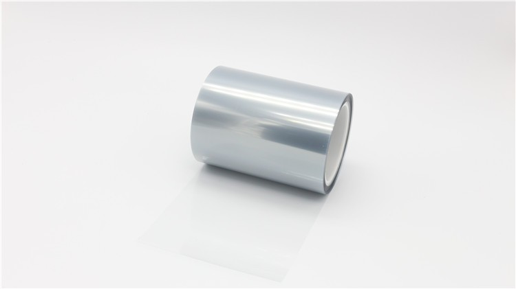 50 micron blue polyester release film