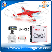 2016 china quad copter drone with HD camera and Remote control 2.4GHz fpv 6 Axis Gyro uav