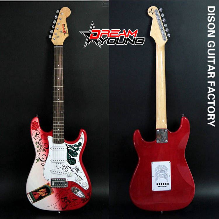 DS-EG5028 Durable Best Quality Competitive Price Red Electric Guitar