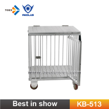 KB-513 Aluminum Pet Trolley Multi-function Folding Trolley Pet Show Carrier