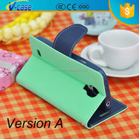 VCASE Hot Sale Leather flip Case Cover For Samsung Galaxy S2 S 2 II i9100