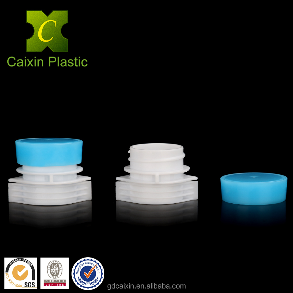 Flexible Packaging Plastic Cap with Large Diameter Spout