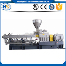 nylon hdpe pe ldpe sale plastic extrusion machine granules/ film/ sheet/ board twin screw extruder