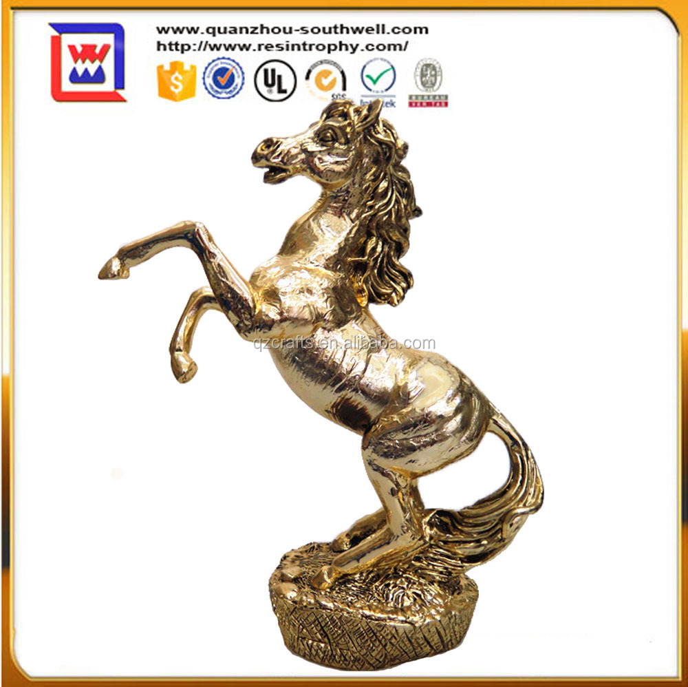 custom polyresin horse figurines and resin horse sculptures and resin horse statues