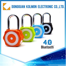 Phone Control Metal Bluetooth smart pedestal lock