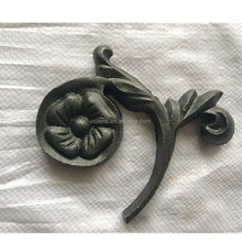 Casting Steel Rosettes,Wrought Iron Components For Iron Gate/Staircase,Cast Steel /Cast Iron Leaves And Flowers