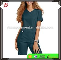 Fashionable medical scrub suit/scrub set/nurse hospital uniform designs