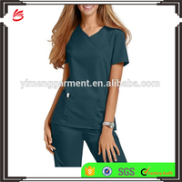 Fashionable Medical Scrub Suit Scrub Set