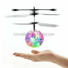 Mini flying ball helicopter Crystal Hand Suspension Helicopter with RC flying ball
