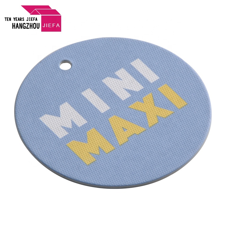 2018 Logo Custom Labels Paper Hang Tag With High Density