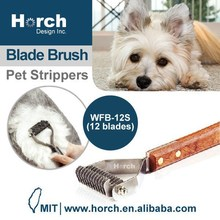 Easy Grooming with Wooden Handle DeShedding Pet Stripper Tools