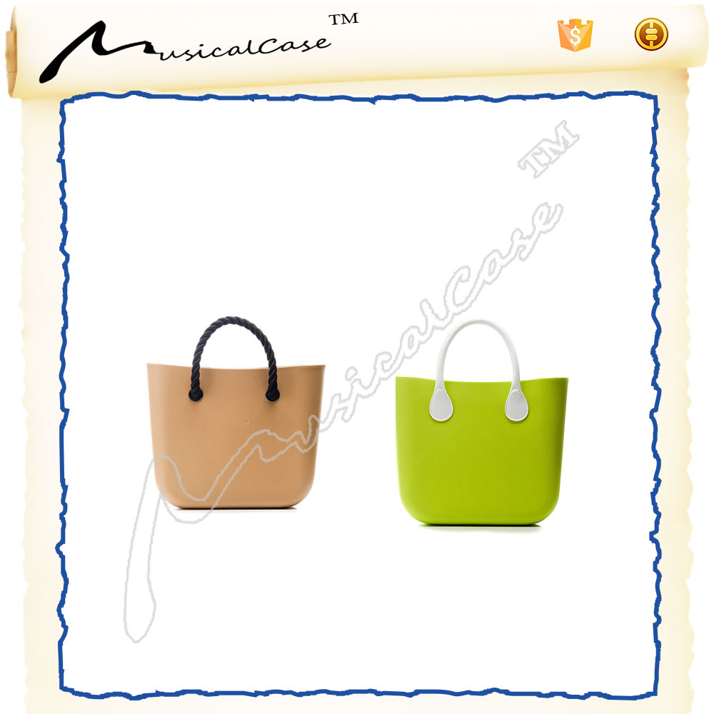 Fancy lightweight european style online shopping bags eva materials