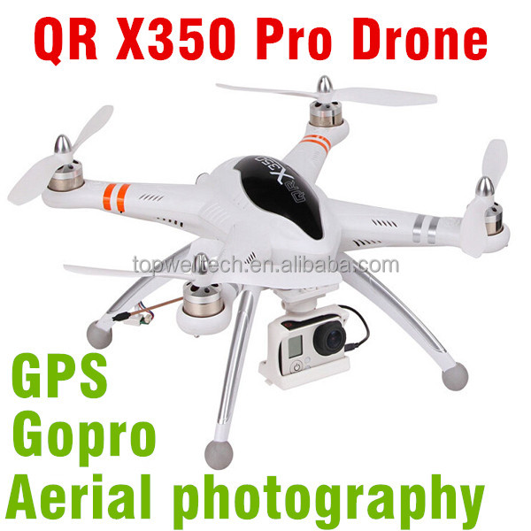 Hottest sale 2.4G RC QUADCOPTER RC drone with camera AUTO-PATHFINDER FPV GPS radio controlled fishing drone