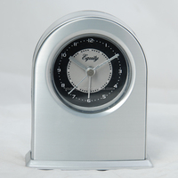 High Quality LCD Projection Table Alarm Clock,Metal Travel Alarm Clock