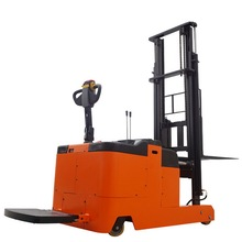 Wonderfull Counterbalanced Electric Walkie Reach Stacker