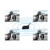 New Technology V4 1200m 4 Riders Intercomunicador Bluetooth Intercom for Motorcycle Motorbike Helmet