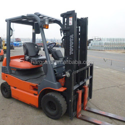 2010 Japan original used Toyota Battery 2.5 ton 7FB25 electric with 4220 m lifting height standard mast forklift truck sale