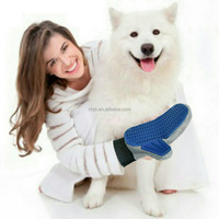 Grooming Glove for Dog&Cat,Two-sided Massage Gloves Pet