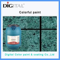 Single component Colorful paint for exterior walls of the building