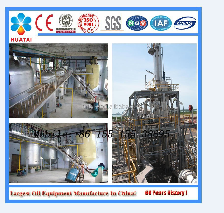 small scale waste palm oil biodiesel production line