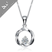 float locket charm with silver cz pendant engrav pendant silver