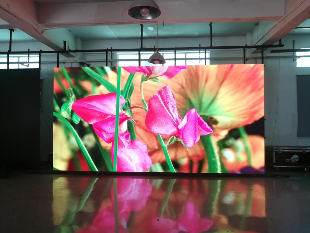 PH3.91 Indoor Full Color LED Advertising Display for rental