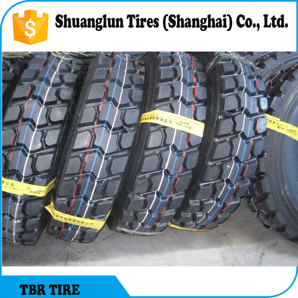 Tyre factory in China semi truck tire sizes 7.50R16