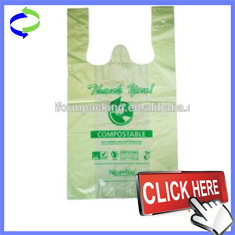 100% Biodegradable and Compostable Corn Starch for Plastic Bag on Roll