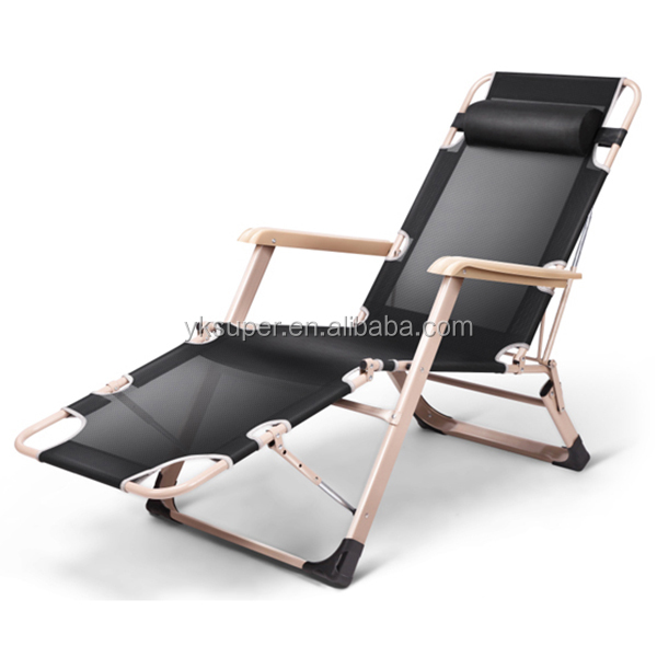 Sling sun chaise lounger outdoor garden pool bed beach chair