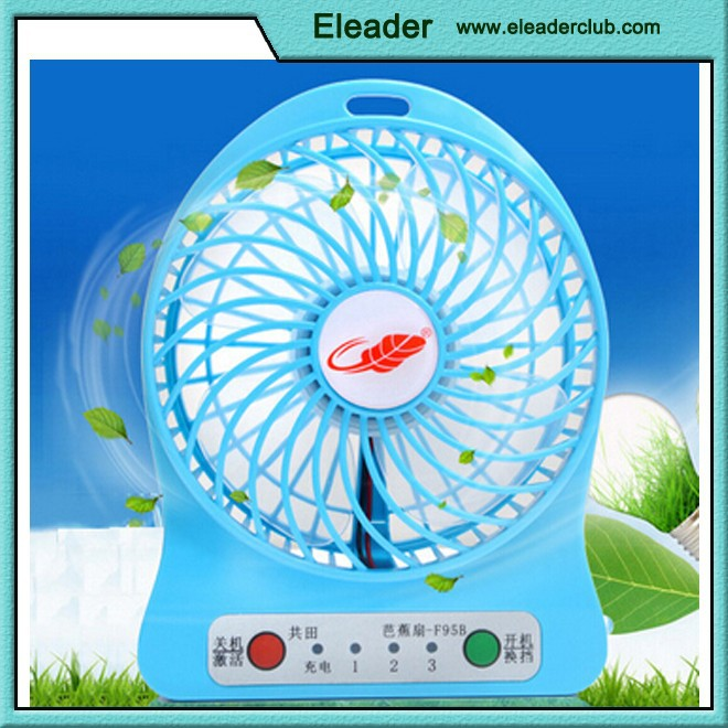 Mini USB Table Desk Personal Fan , Mini USB Rechargeable Fan