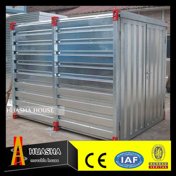 Flat-pack Cheap Miniature Movable House for Storage Warehouse