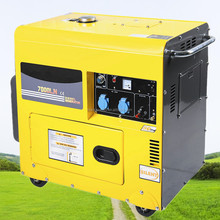 178F Engine Generator 3000w Silent Generator 3kw Electric Start Diesel Generator with Open Type