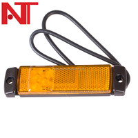"4*1.5"" 24V AMBER LED side marker, reflector and clearance lamp Truck Trailer DOT,SAE,ECE approval"
