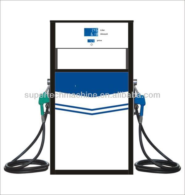 used fuel dispenser for filling gasoline and disel oil with 2 nozzle 2 display