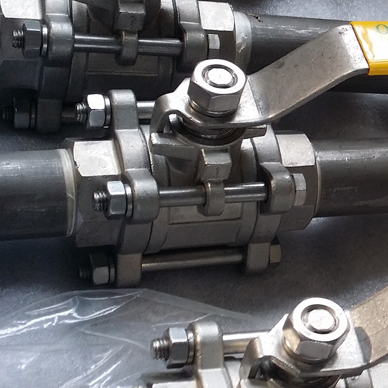Teflon DN15 Stainless Steel Ball Valve Machine