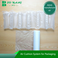 China Shanghai manufacturer for e-commerce envionmental products air bubble film