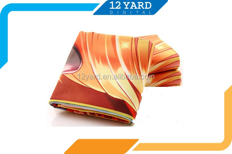 sublimation printed football team sport beach towel custom logo bath towel